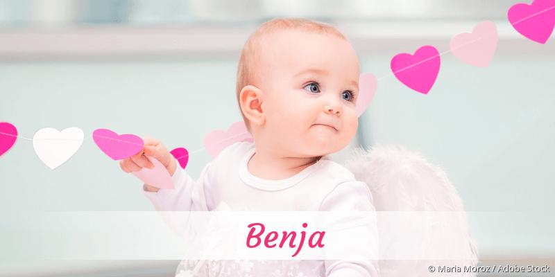 Name Benja als Bild
