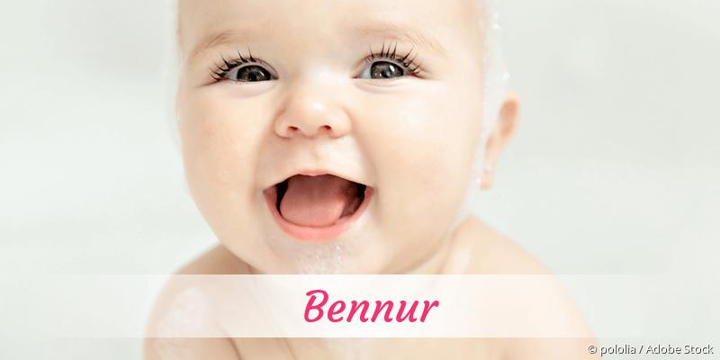 Name Bennur als Bild