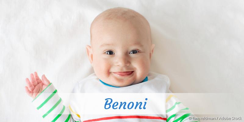 Name Benoni als Bild