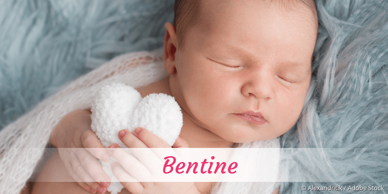 Name Bentine als Bild