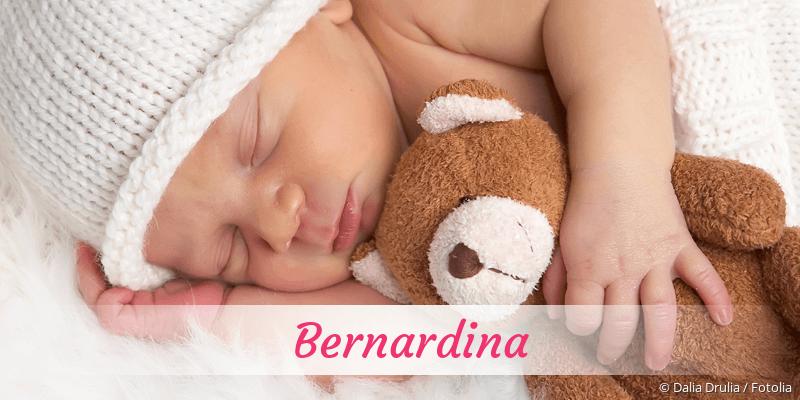 Name Bernardina als Bild