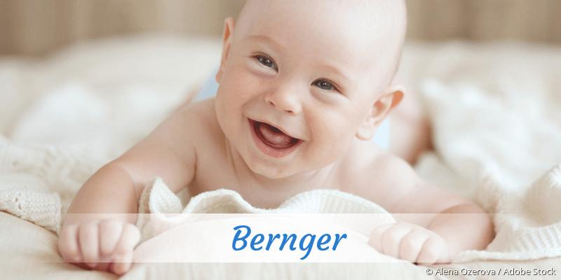 Name Bernger als Bild