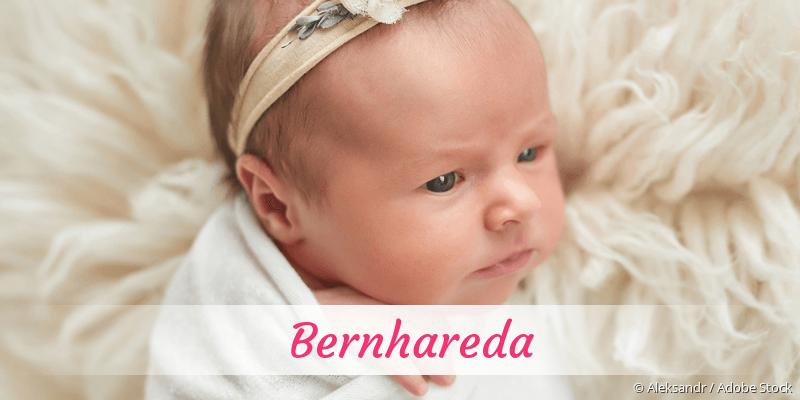 Name Bernhareda als Bild