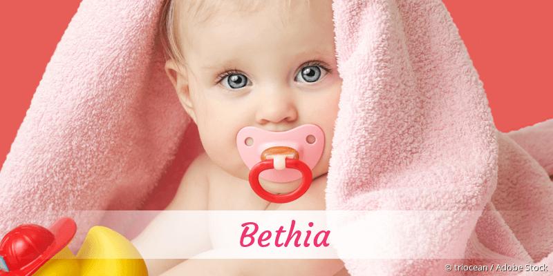 Name Bethia als Bild
