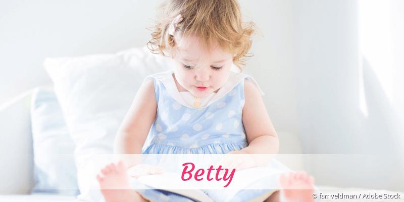 Name Betty als Bild