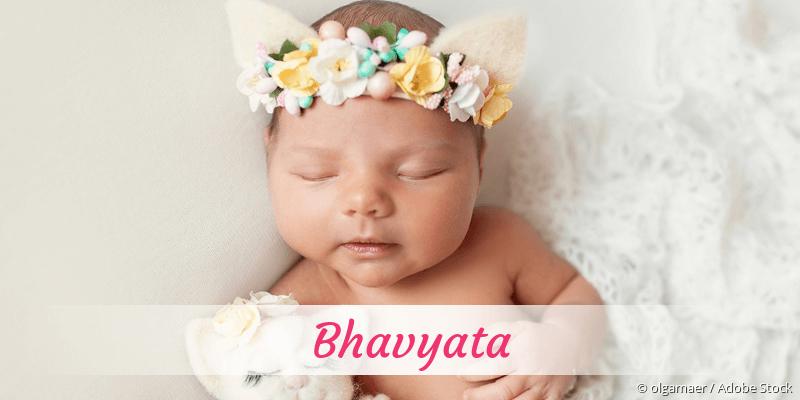 Name Bhavyata als Bild