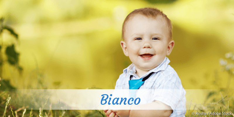 Name Bianco als Bild
