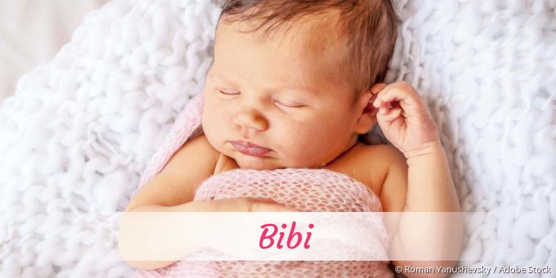 Name Bibi als Bild