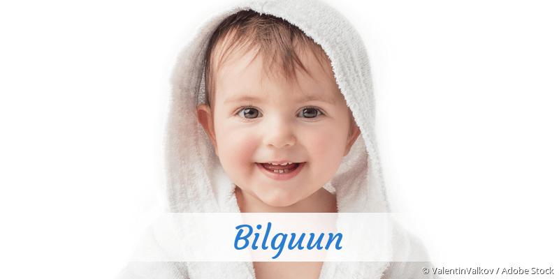 Name Bilguun als Bild