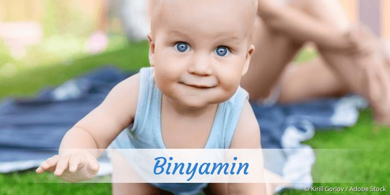 Name Binyamin als Bild