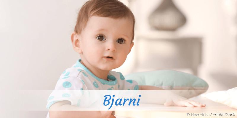 Name Bjarni als Bild