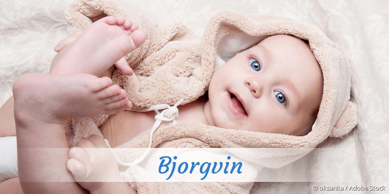 Name Bjorgvin als Bild