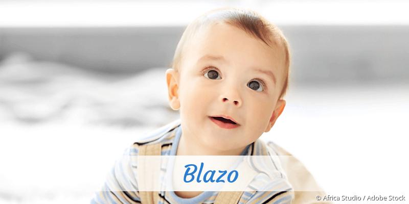 Name Blazo als Bild