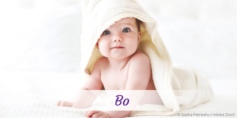 Name Bo als Bild