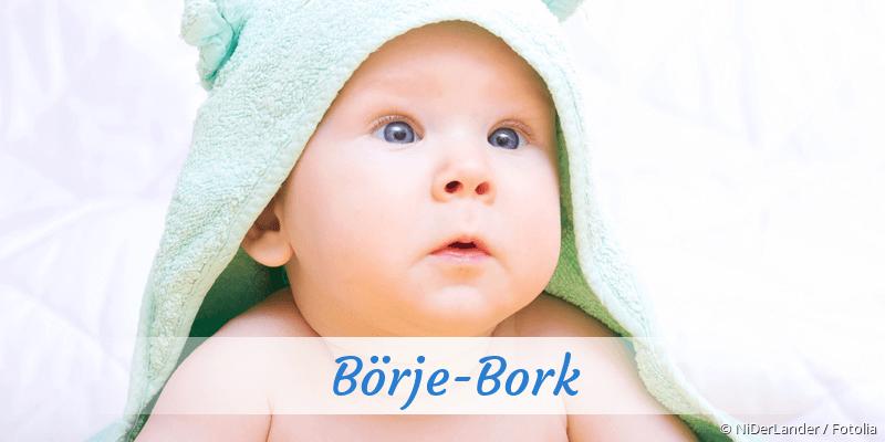 Name Börje-Bork als Bild