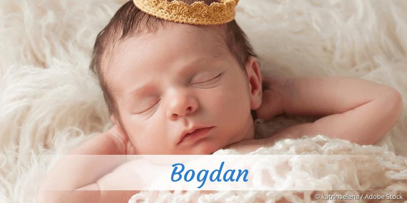 Name Bogdan als Bild