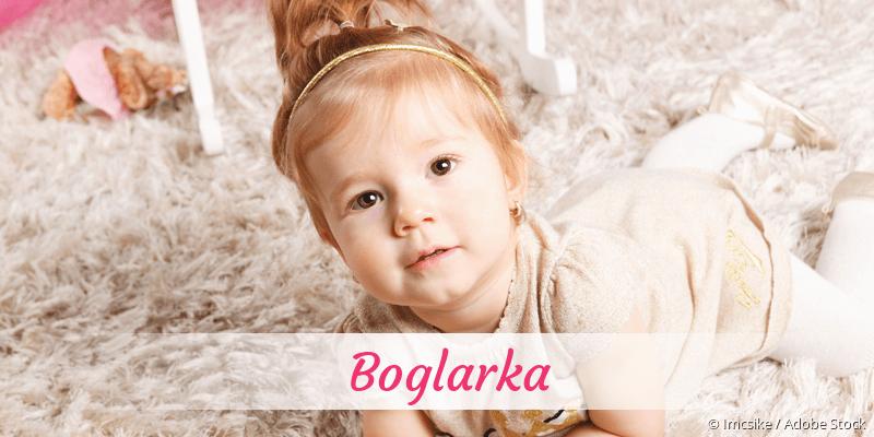 Name Boglarka als Bild