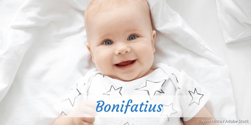 Name Bonifatius als Bild
