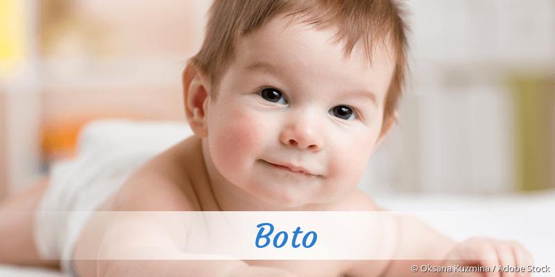 Name Boto als Bild
