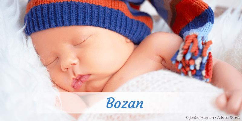 Name Bozan als Bild