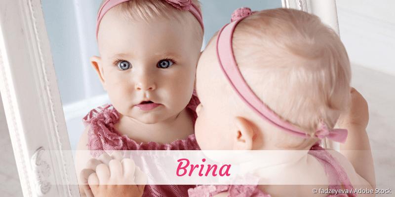 Name Brina als Bild
