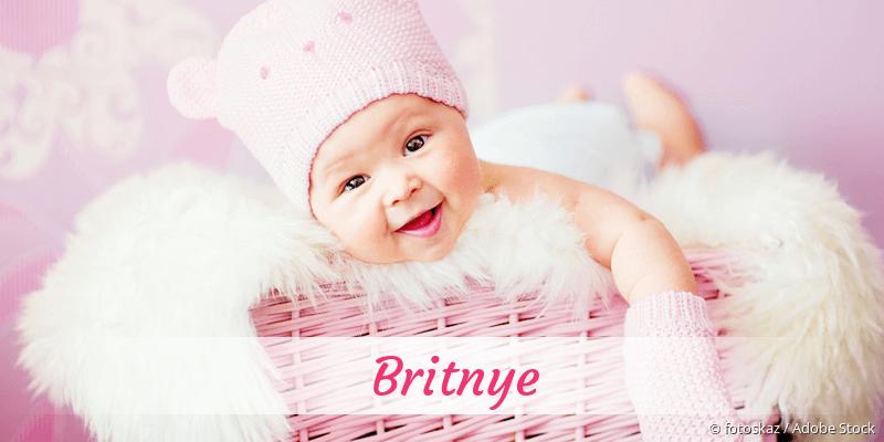 Name Britnye als Bild