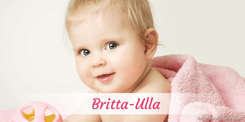 Name Britta-Ulla als Bild