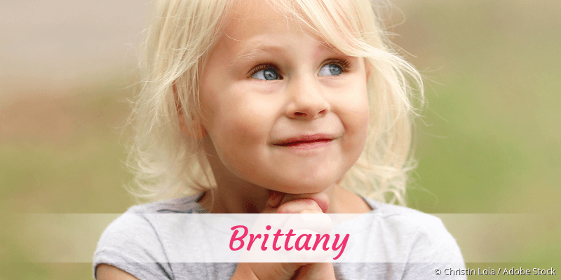 Name Brittany als Bild
