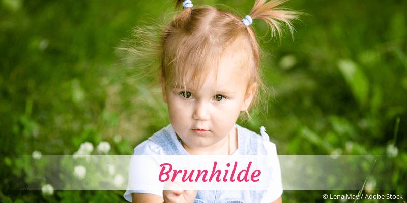 Name Brunhilde als Bild