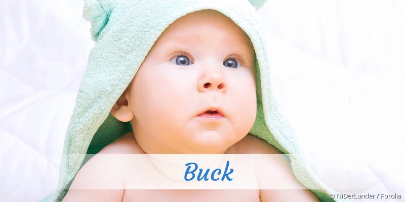 Name Buck als Bild