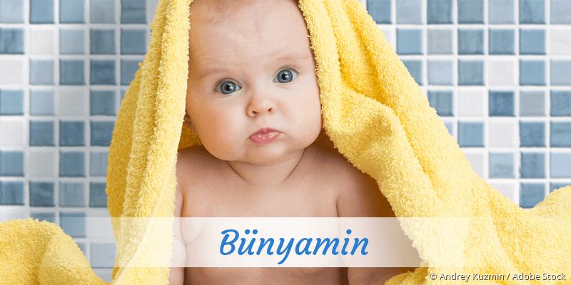 Name Bünyamin als Bild