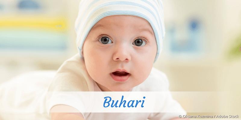Name Buhari als Bild