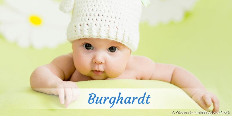 Name Burghardt als Bild