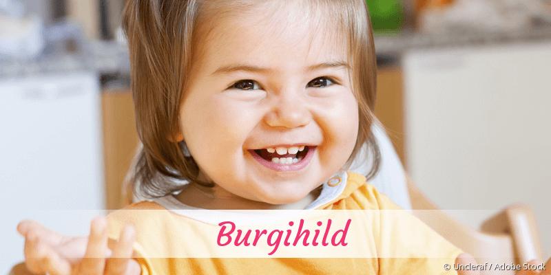 Name Burgihild als Bild