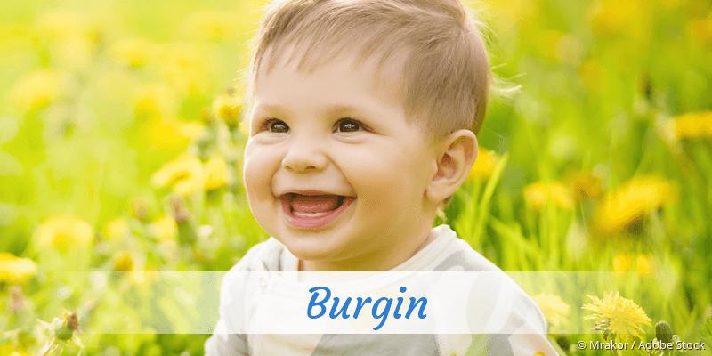 Name Burgin als Bild
