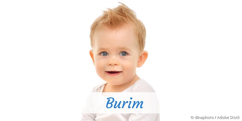 Name Burim als Bild