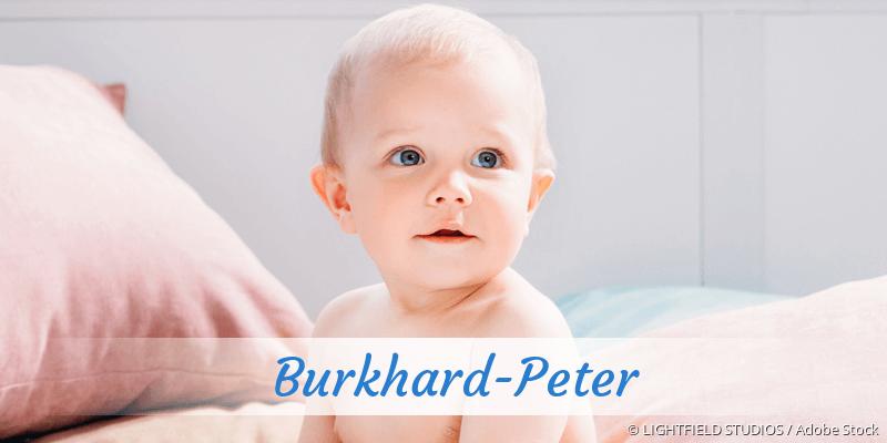 Name Burkhard-Peter als Bild