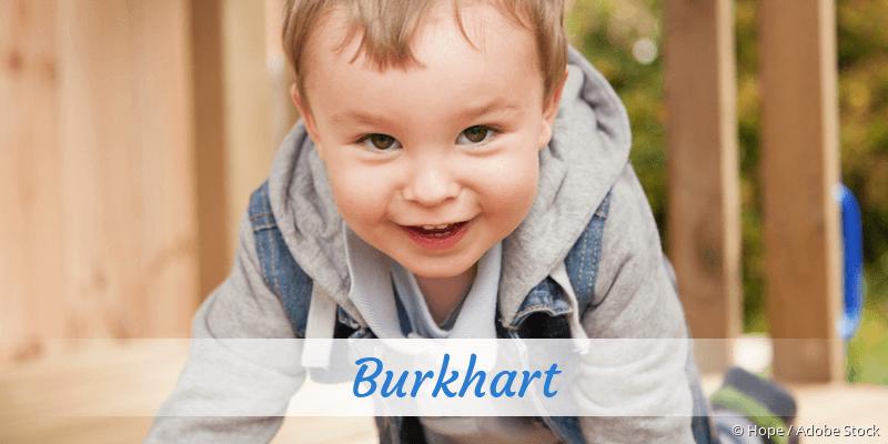 Name Burkhart als Bild