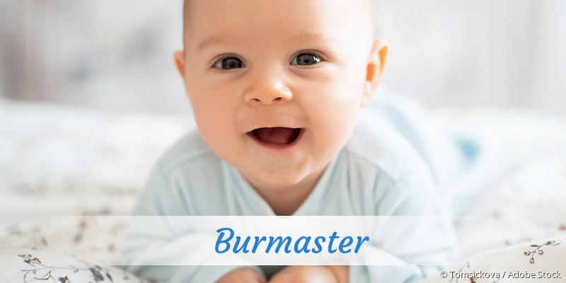 Name Burmaster als Bild