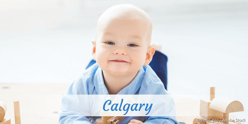 Name Calgary als Bild