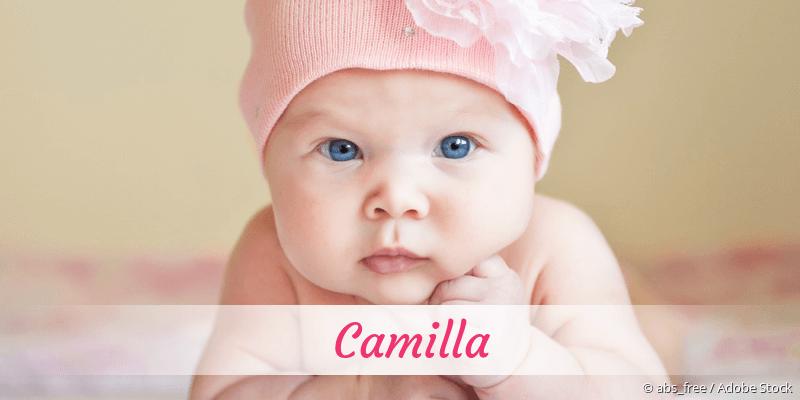 Name Camilla als Bild