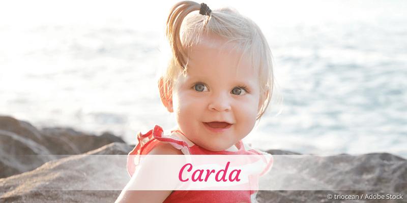 Name Carda als Bild