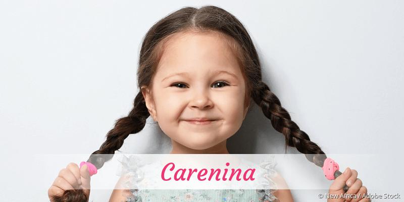 Name Carenina als Bild