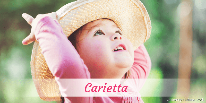 Name Carietta als Bild