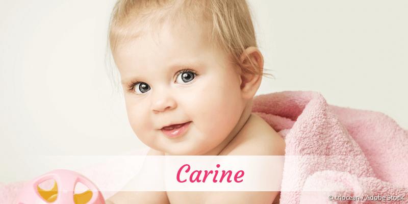 Name Carine als Bild