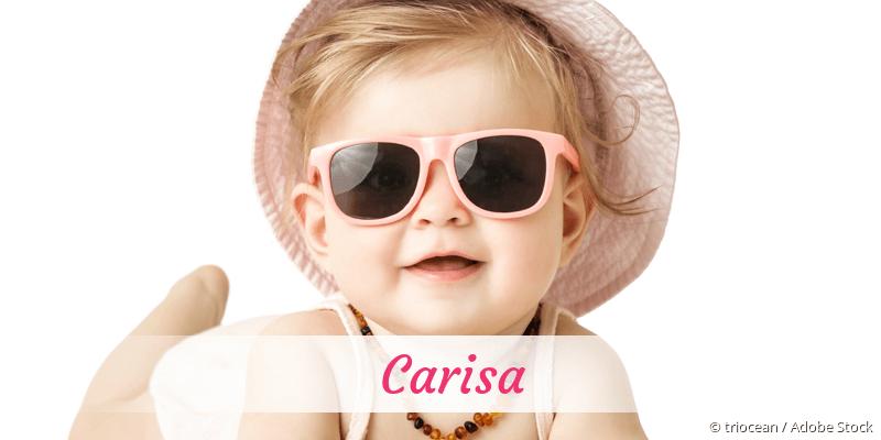 Name Carisa als Bild