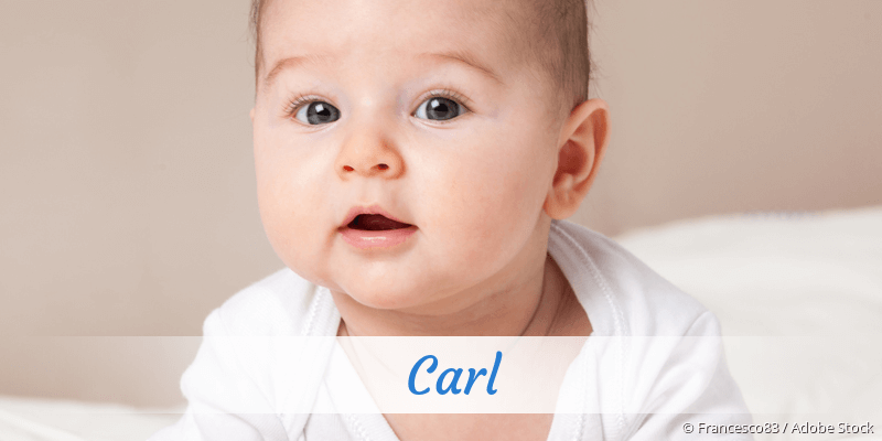 Name Carl als Bild