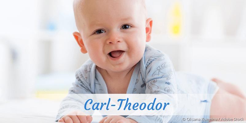 Name Carl-Theodor als Bild