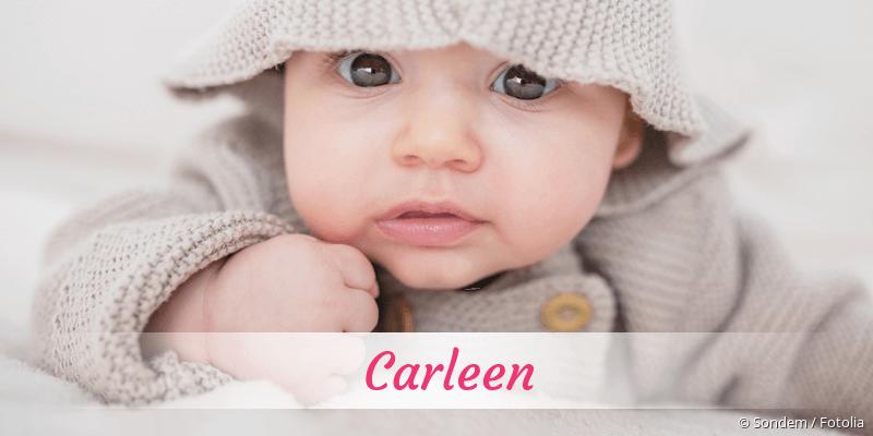 Name Carleen als Bild