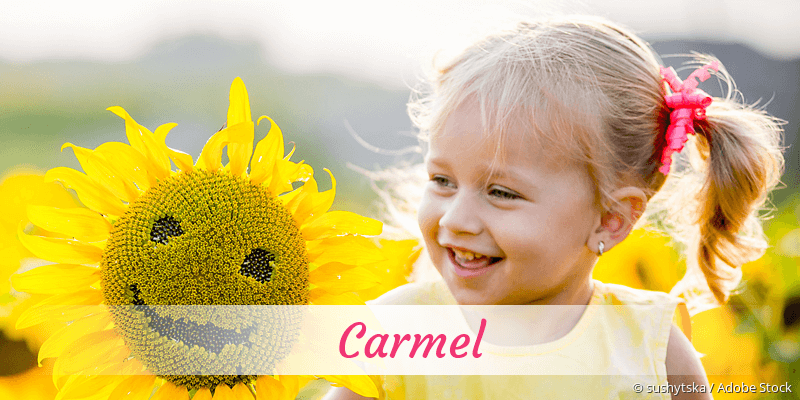 Name Carmel als Bild